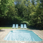 Pool house rural tourism wagon must Mieres Garrotxa