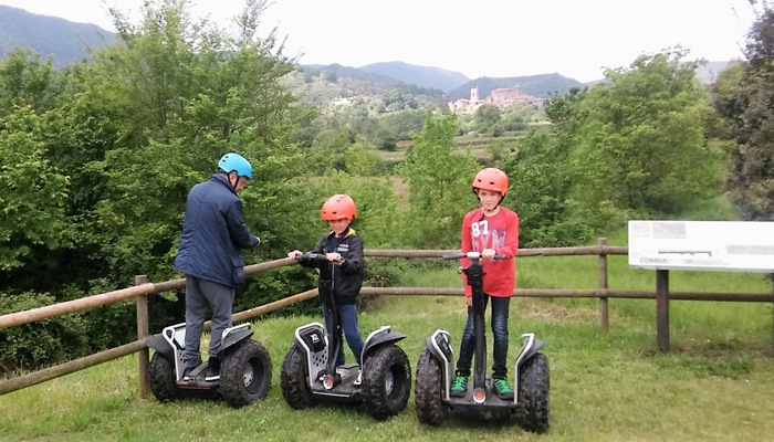 Discovery of the Segway Garrotxa