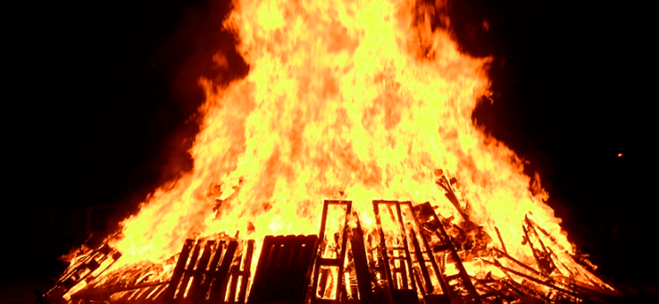 The fire on the night of San Juan