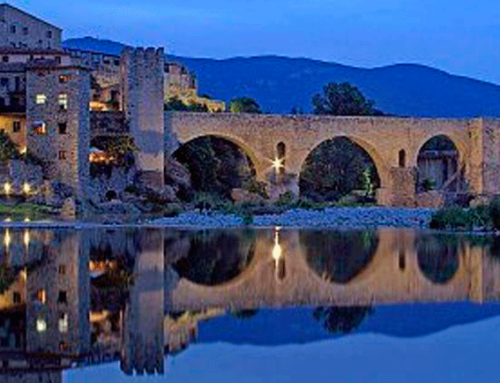 Proposed tour Besalú