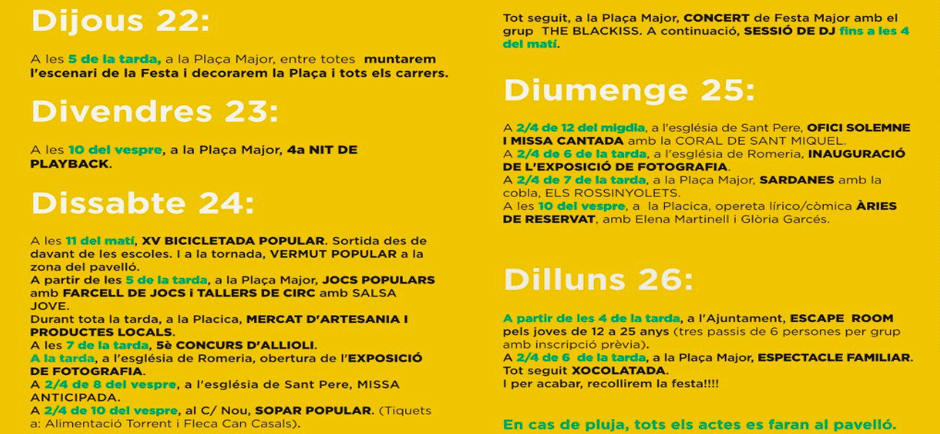 Live-festival in Mieres