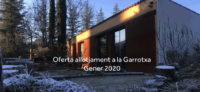 January sales offer accommodation in Garrotxa