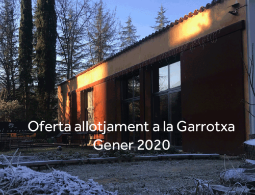 Jan verkoop bieden accommodatie in Garrotxa