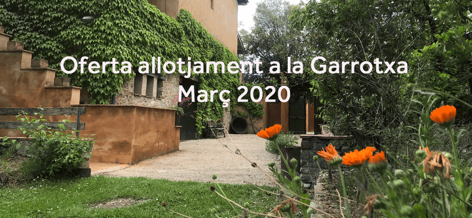 March sales offer accommodation in Garrotxa