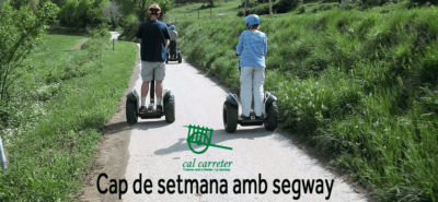 Weekend with segway